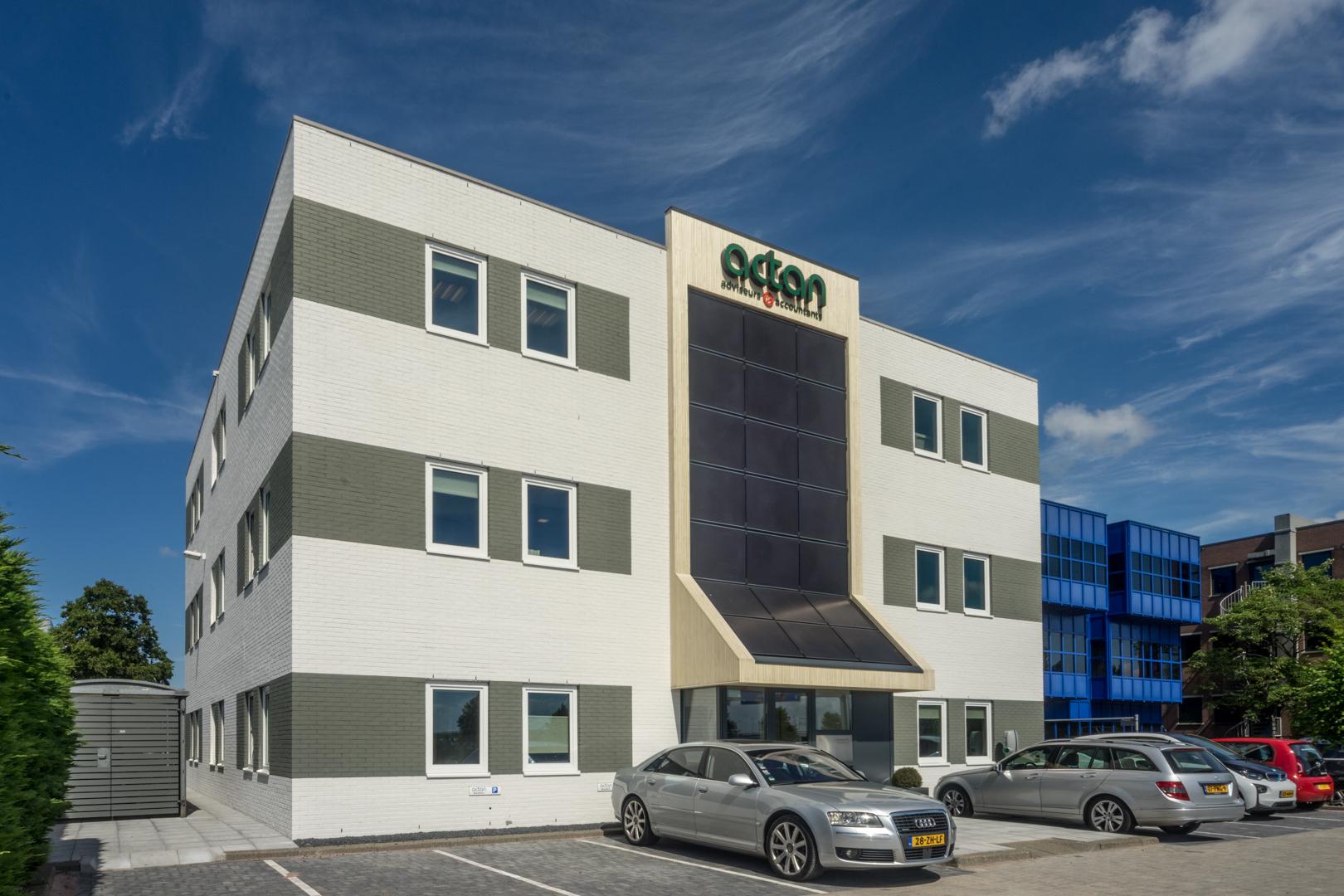 revilalisatie kantoor Actan Hoofddorp