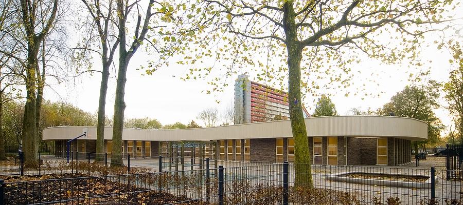 Nieuwbouw basisschool met medisch kinderdagverblijf Tijstroom