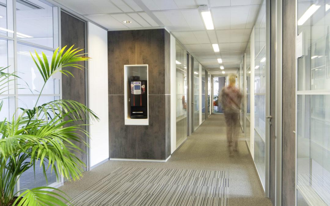 Verbouwing tijdelijk kantoor Zaandam