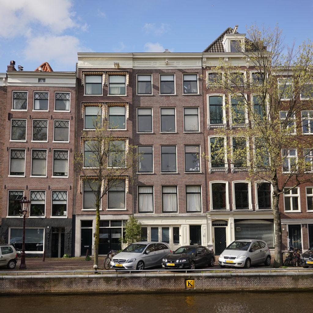 nieuwe ramen met dubbelglas in rijksmonument Amsterdam